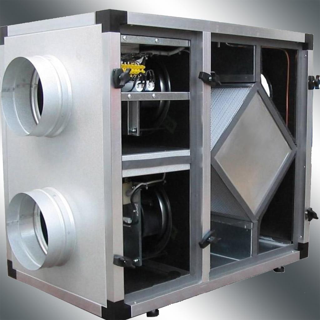 Эффективный рекуператор воздуха своими руками - Инж. системы 99