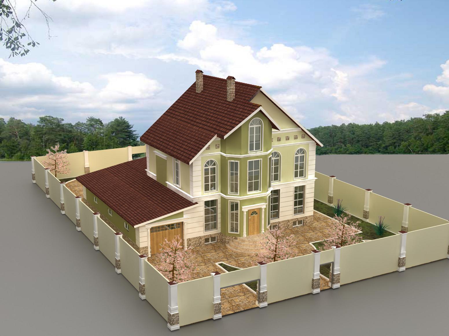 Проекты и дизайн частных домов