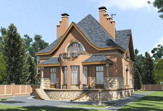 Каталог проектов домов и коттеджей Выбрать типовой