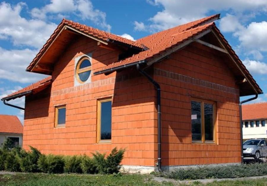 Дом из теплых блоков