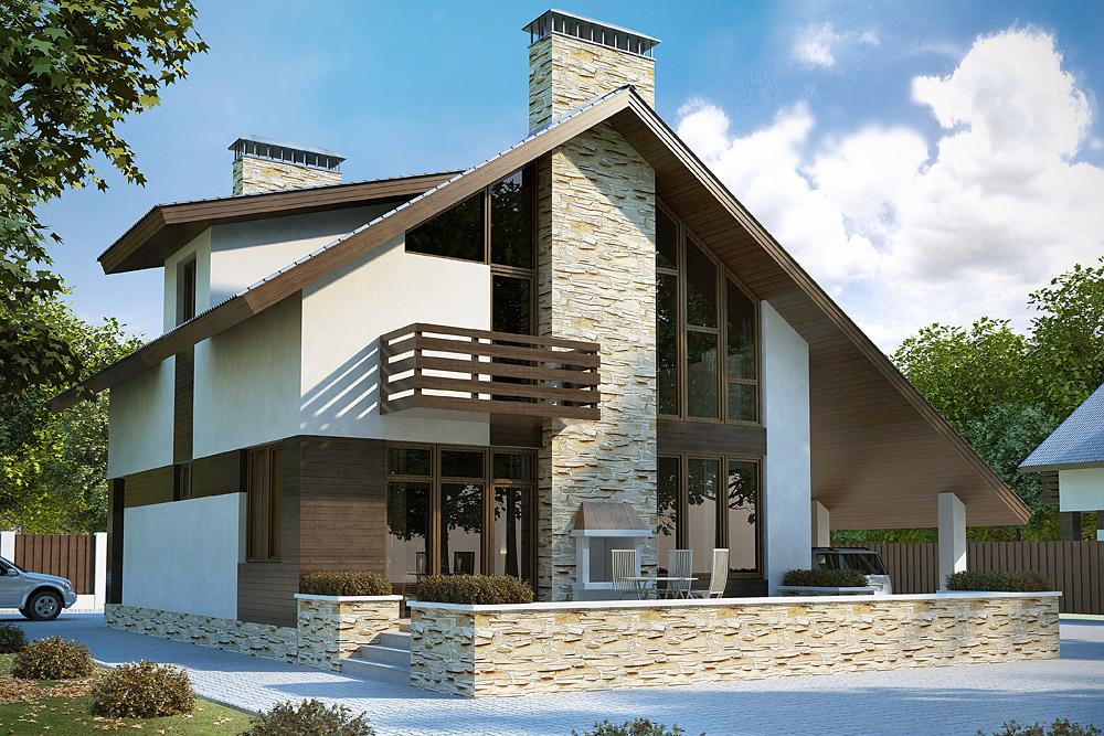 Современный дом проект фото