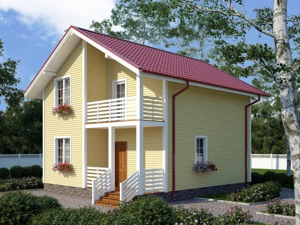 П�оек�� домов до 120 кв м