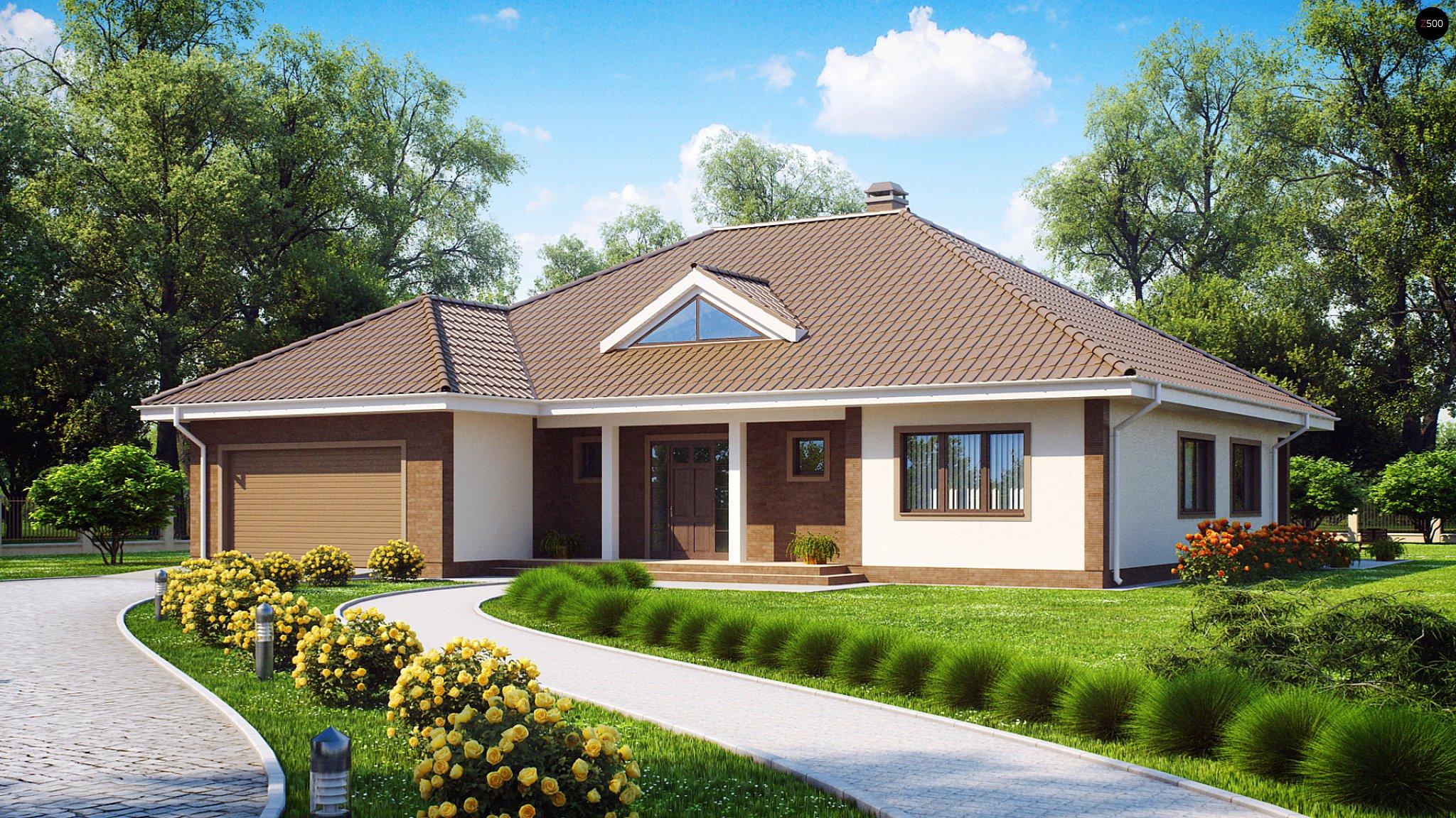 Дизайн дома одноэтажного фото 2018 современные идеи и общий вид участка