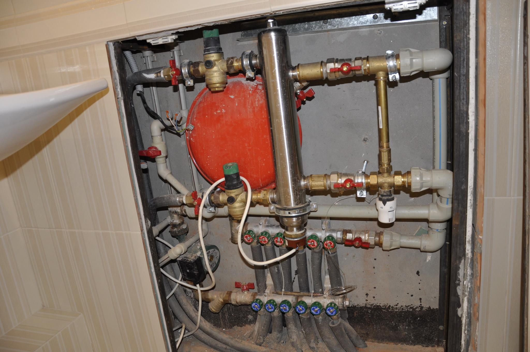 Тёплый пол от газового котла своими руками 322